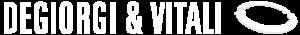 Logo Degiorgi & Vitali bianco